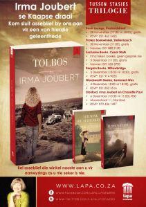 Irma Joubert Wes-Kaap toer