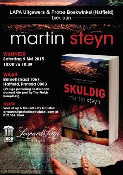 Martin Steyn Protea Boekwinkel 9 Mei