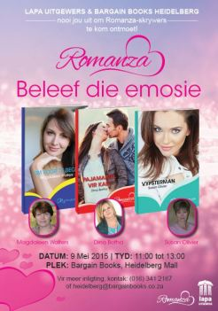 Romanza 9 Mei Bargain Books Heidelberg
