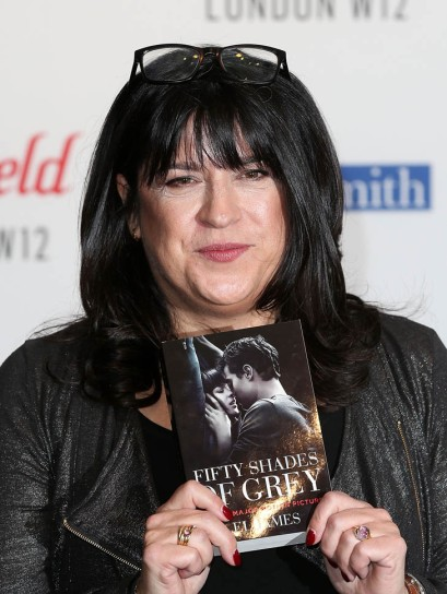 E.L. James - Book Signing